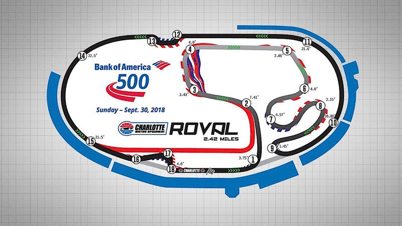 Here\'s The Layout For NASCAR\'s First-Ever Playoff Road Course Race