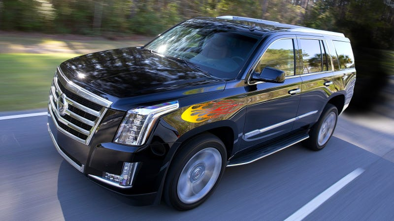 Illustration for article titled Cadillac Escalade Diesel And V-Sport Performance Model May Be Happening