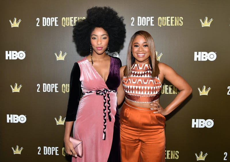 Jessica Williams and Phoebe Robinson (Slaven Vlasic/Getty Images for HBO)