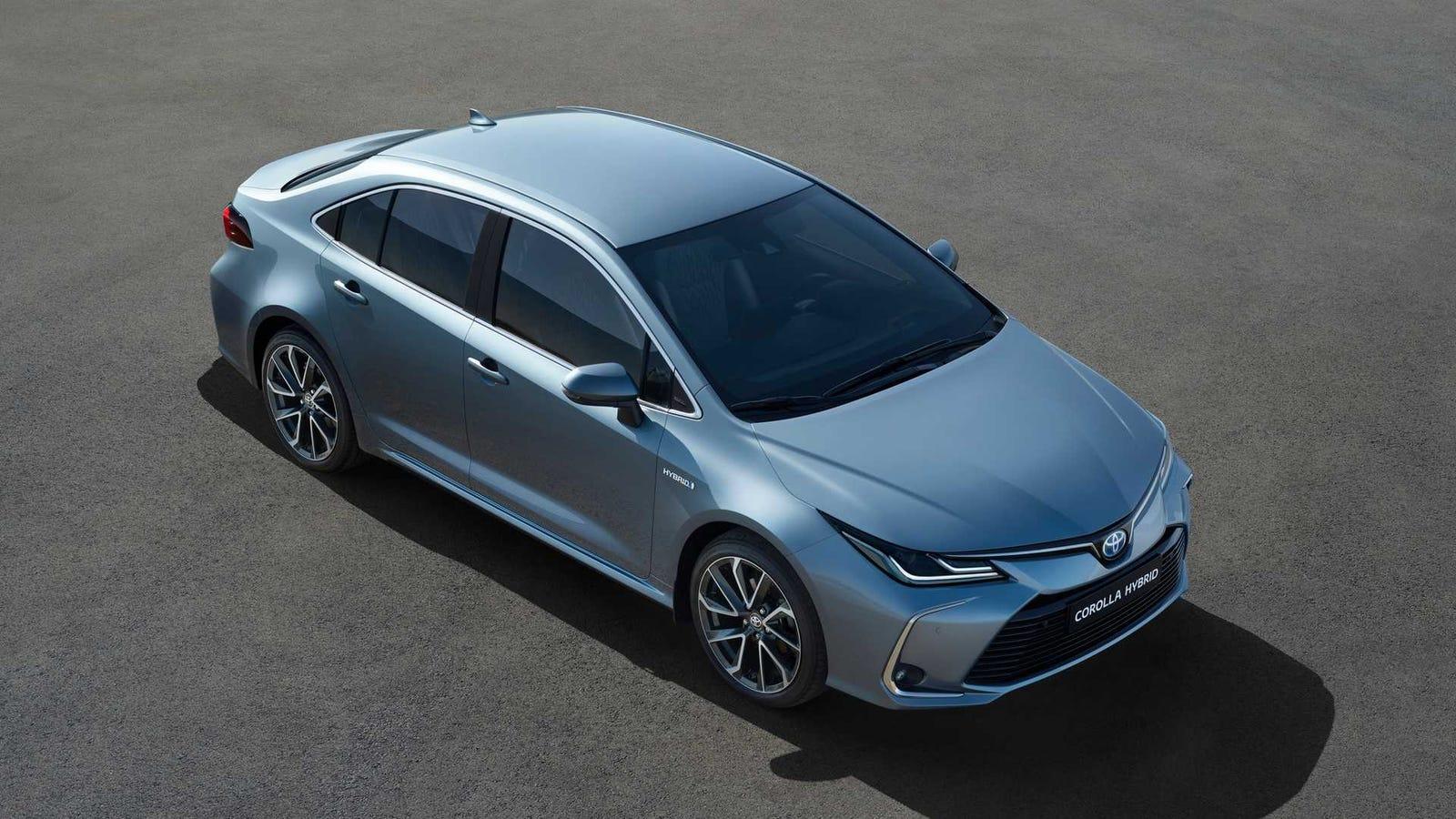 The 2020 Toyota Corolla Hybrid Gets Prius Fuel Economy Without Prius Looks - Jalopnik