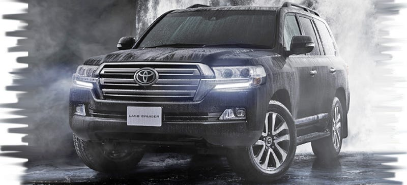 Illustration for article titled Japan's 2016 Toyota Land Cruiser Is What Our Lexus LX Should Be