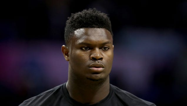 Zion Williamson In Panic After Realizing Game Falls On Same Night As Theater Club Production