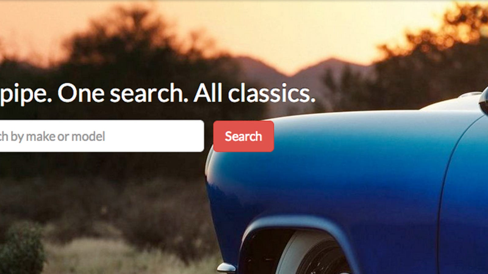 Your Day Is About To Be Wasted By This Classic Car Search Engine - Classic car search