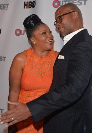 Mo'Nique and her husband, Sidney Hicks, in 2014Alberto E. Rodriguez/Getty Images