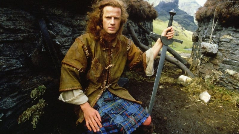 Illustration for article titled The Eventual Highlander Remake Will Combine Stories From Across the Franchise