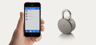 A Bluetooth Padlock That Keeps Your Valuables Secure Anywhere You Go