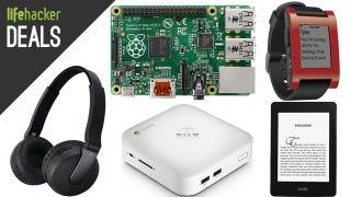 Illustration for article titled Cross-Platform Smart Watch, Wireless Audio, Raspberry Pi Kit [Deals]