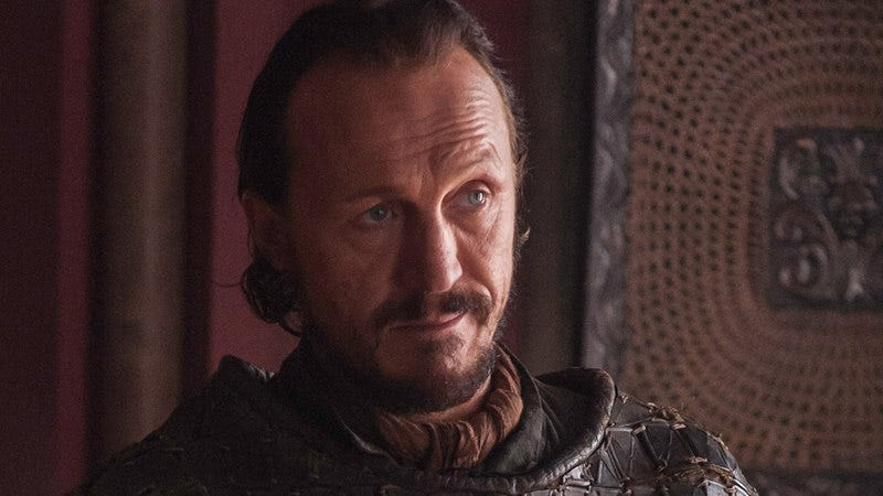 No, not Bronn. They didn't kill Bronn. Didn't you watch the episode?