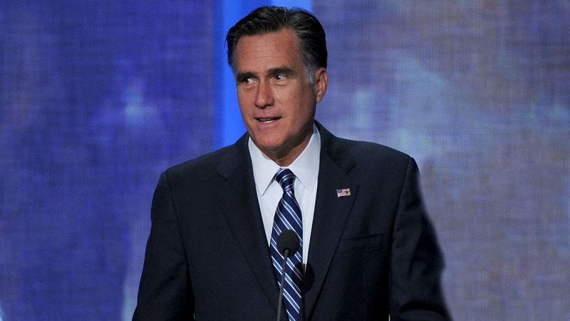 Illustration for article titled Panicking Romney Attempts To Lay Off Debate Moderator