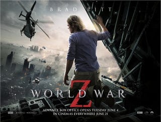 Illustration for article titled World War Z: Maybe not the movie you wanted but it still rocks...