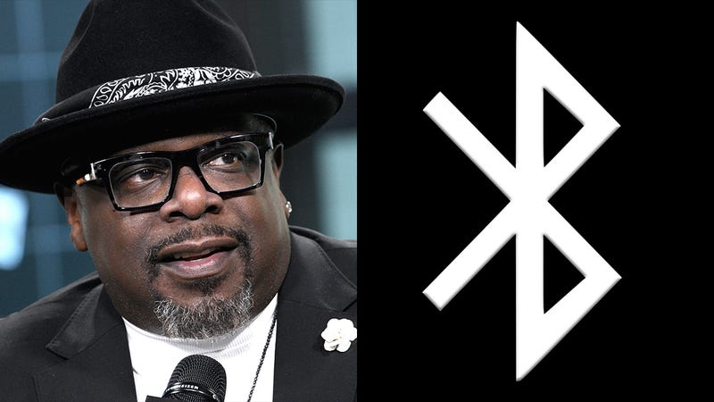 Illustration for article titled Personal Transformation: The Entertainer Formerly Known As Cedric Has Changed His Name To The Bluetooth Symbol
