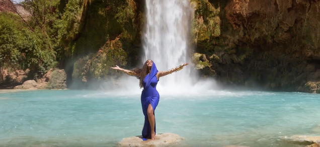 """Beyoncé releases dramatic, colorful video for her Lion King song """"Spirit"""""""