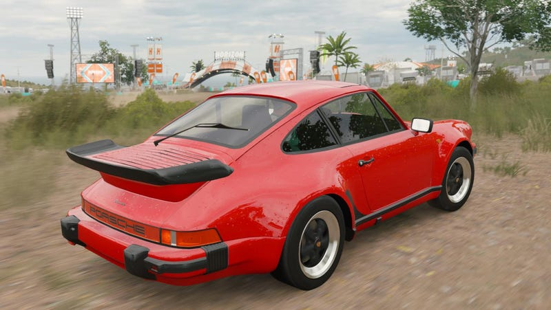 One of many unreleased Porsche vehicles found in the accidentally released dev version of Forza Horizon 3, via Imgur.