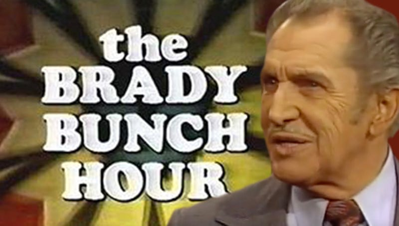 Screenshot: The Brady Bunch Hour. Graphic: Jimmy Hasse.