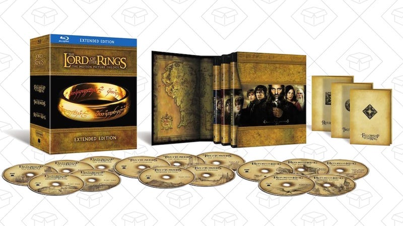 The Lord of the Rings: The Extended Motion Picture Trilogy, $26 | Hobbit Trilogy Extended, $38