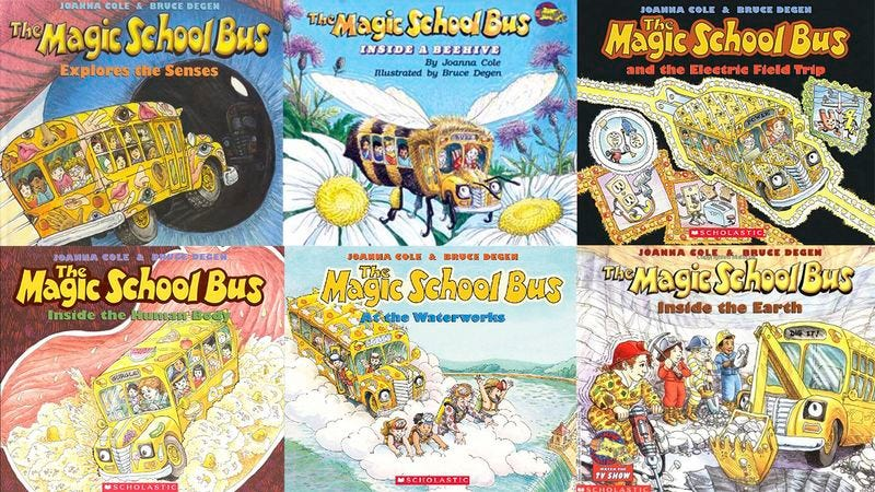 how many of these the magic school bus books have you read