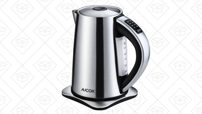 Aicok Kettle | $29 | Amazon | Promo code PRYSU8YB