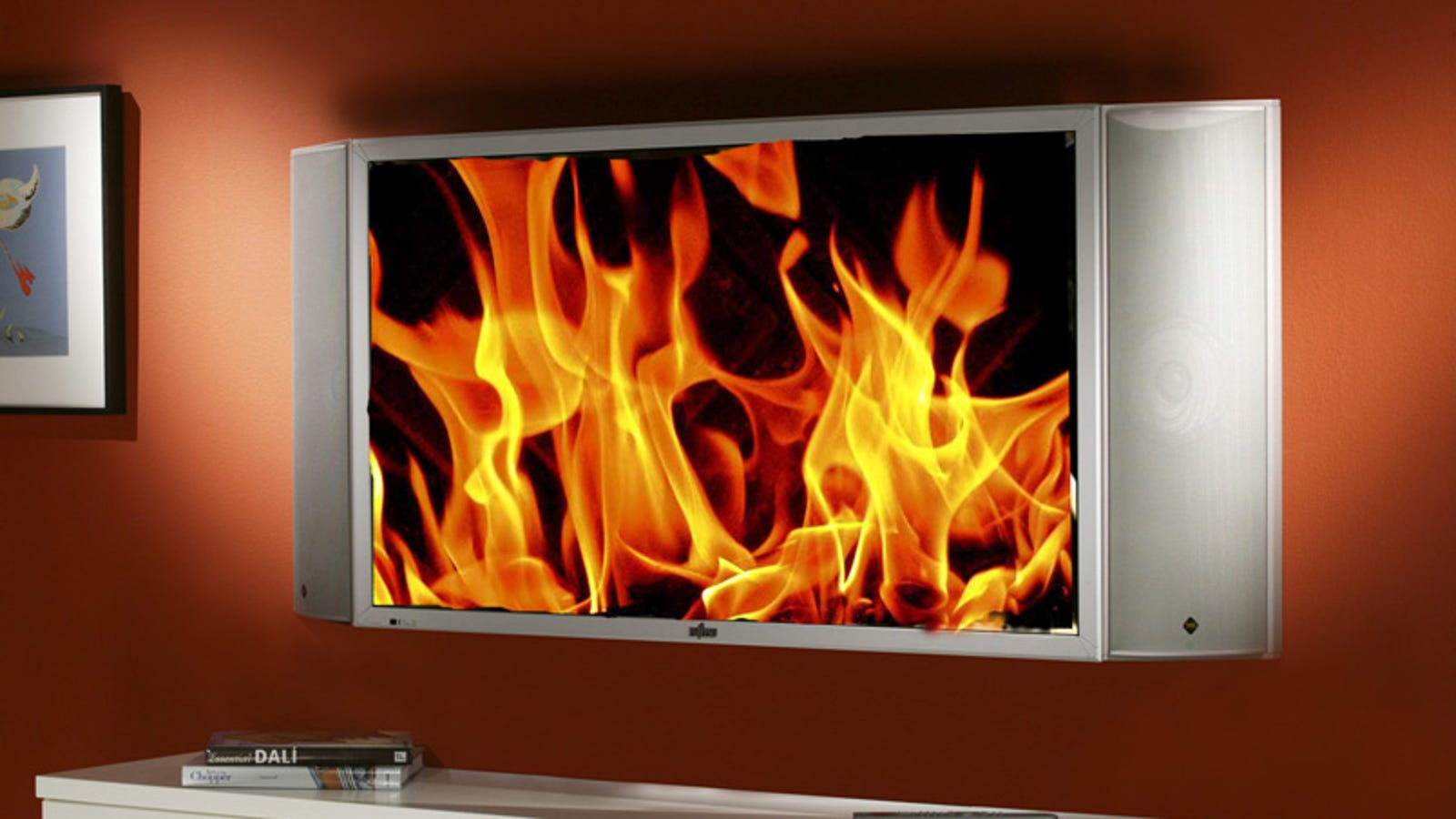 Your Wall Mounted Hdtv Probably Violates Electrical Codes Household Wiring Code Canada