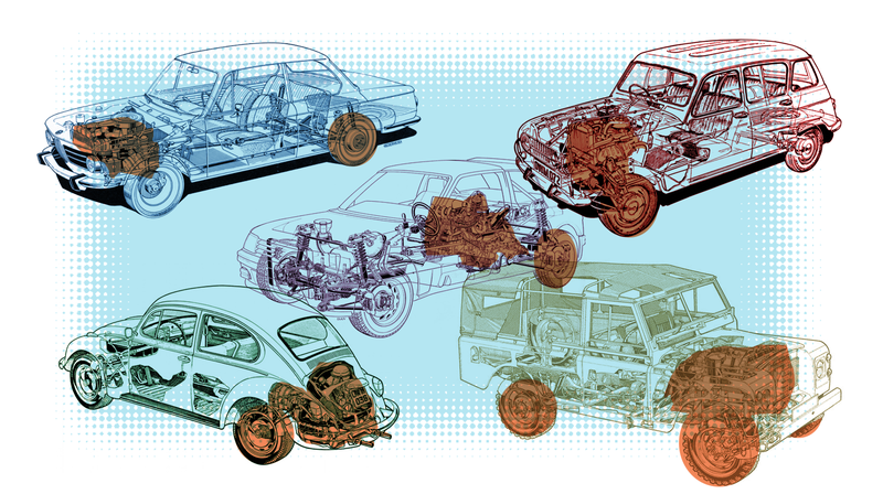 Illustration for article titled There Are Only Four Automakers That Build And Sell Every Major Layout Of Cars