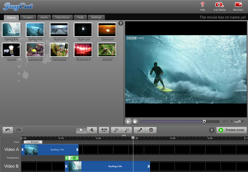JayCut Is a Great Web-Based Video Editor