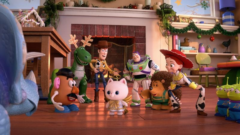 character counts in toy story that time forgot and how murray saved christmas - Toy Story Christmas Special
