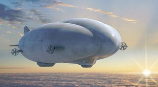 Illustration for article titled 250-Foot Long Hybrid Airship Will Spy Over Afghanistan Battlefields in 2011