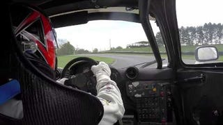 Bill Auberlen in McLaren F1 GTR @ Mid-Ohio