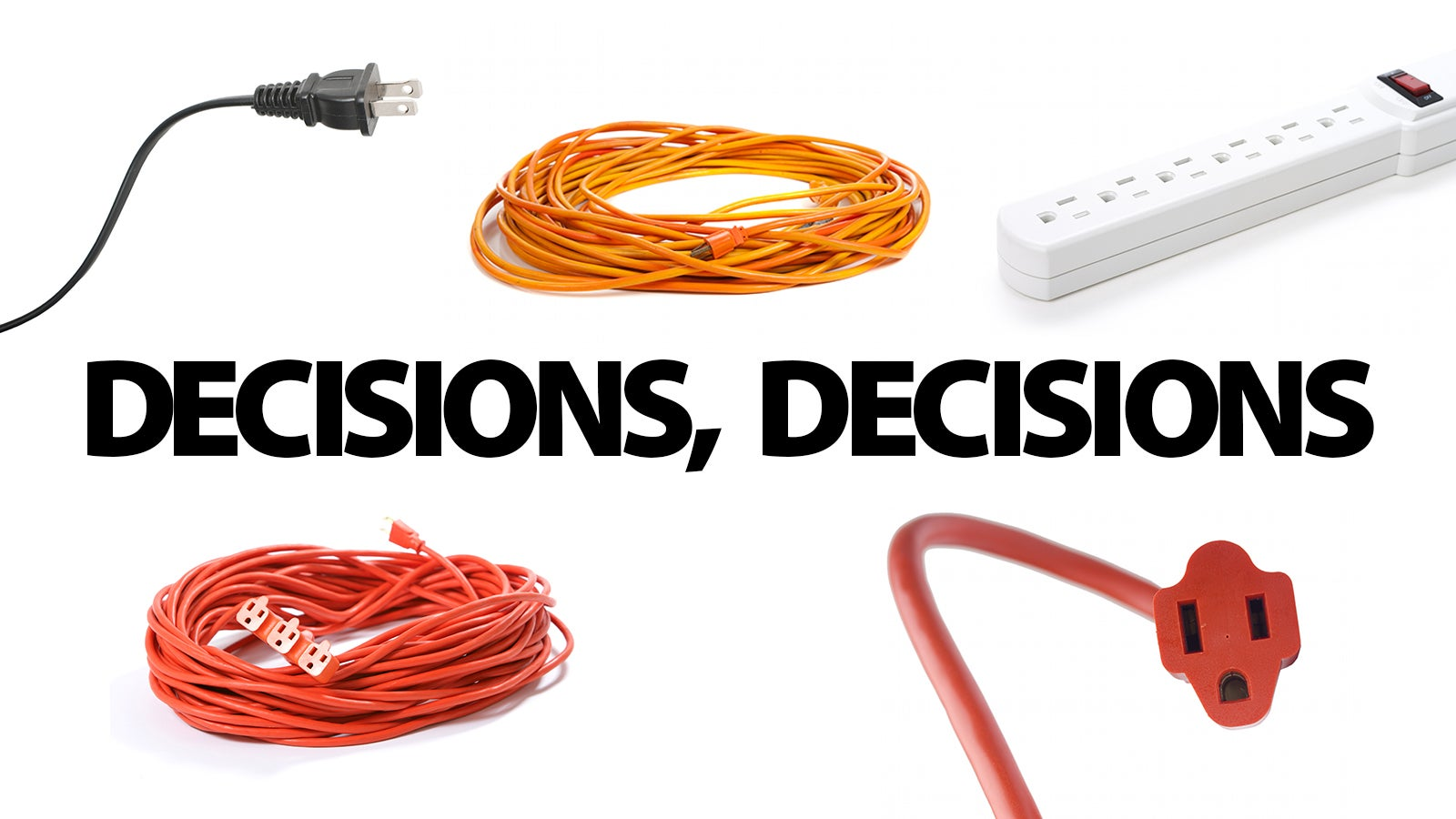 how to choose the right extension cord for anything rh gizmodo com Heavy Duty Extension Cords 50 10-Gauge Extension Cords Home Depot