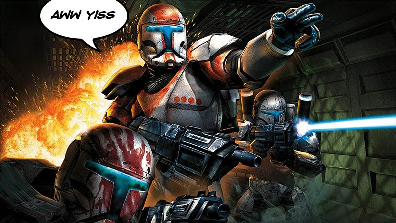 Illustration for article titled Fan Fixes, Then Improves Star Wars: Republic Commando