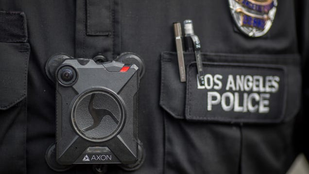 California Law Officially Bans Facial Recognition in Police Body Cams