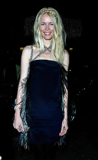 Illustration for article titled Claudia Schiffer: Sea-Hag Chic?