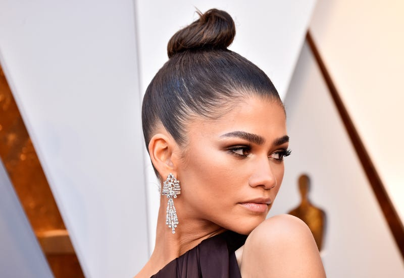 Zendaya at the 2018 Academy Awards