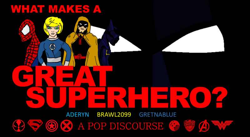 Illustration for article titled POP DISCOURSE: What Makes a Superhero Great?