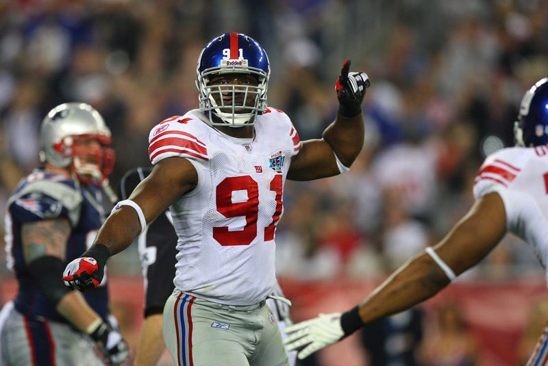 Illustration for article titled Justin Tuck's Nerves Had Him Throwing Up During The Super Bowl