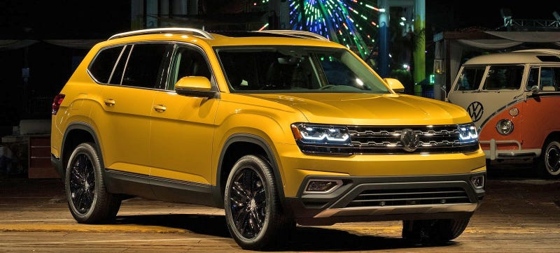 Illustration for article titled Here's How The 2018 Volkswagen Atlas Can Save VW In America