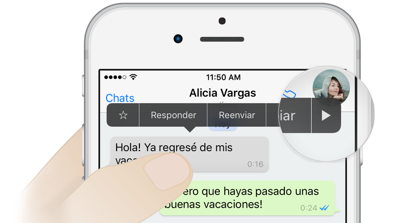 WhatsApp permitirá borrar los mensajes ya enviados para que el otro no llegue a leerlos