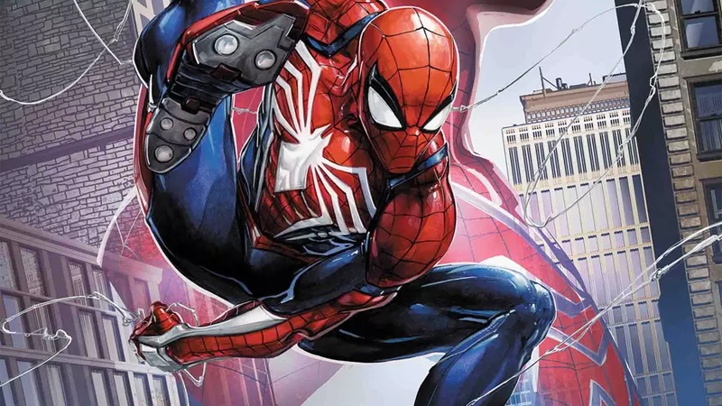 The PS4's next big superstar is swinging into comics.