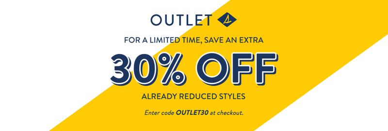 Un 30% extra de descuento | Sperry | Usa el código OUTLET30Imagen: Sperry