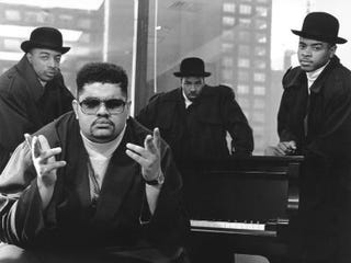 Heavy D & the Boyz in 1988 (Getty Images).