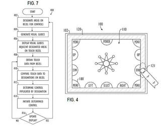 Illustration for article titled Apple Touch-sensitive Bezel Patent