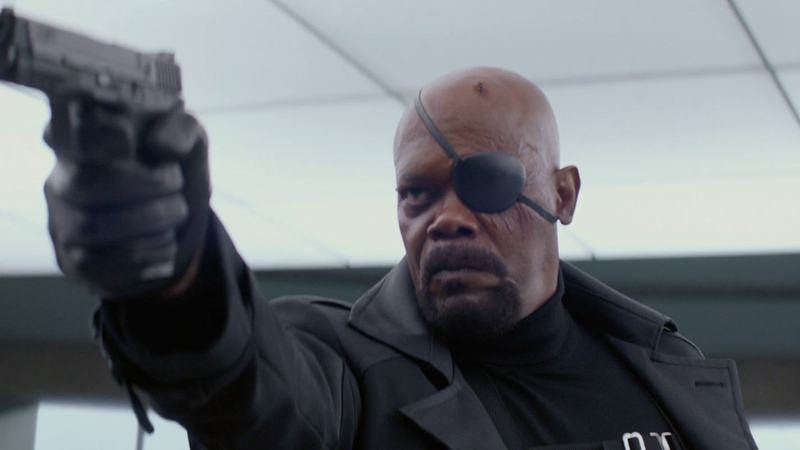 Nick Fury - Captain America: Winter Soldier