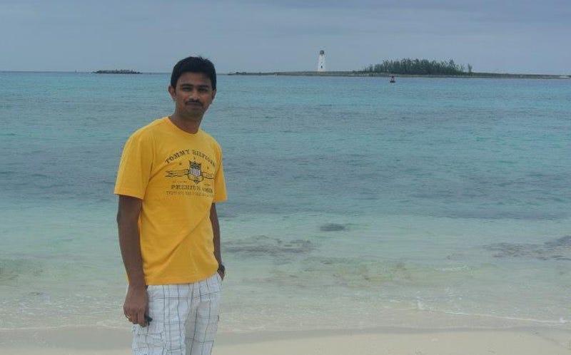 Srinivas Kuchibhotla, a 32-year-old engineer for Garmin, who was shot and killed in Kansas on Wednesday by a white terrorist (GoFundMe)