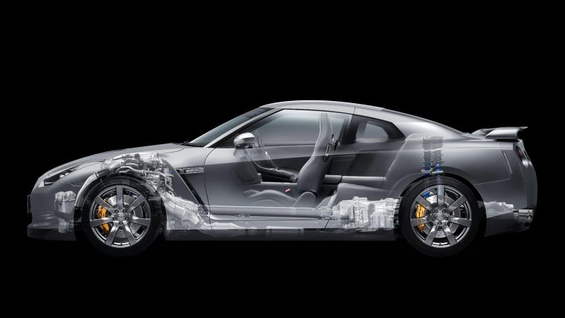 Your Ridiculously Cool Nissan Gt R Cutaway Wallpaper Is Here