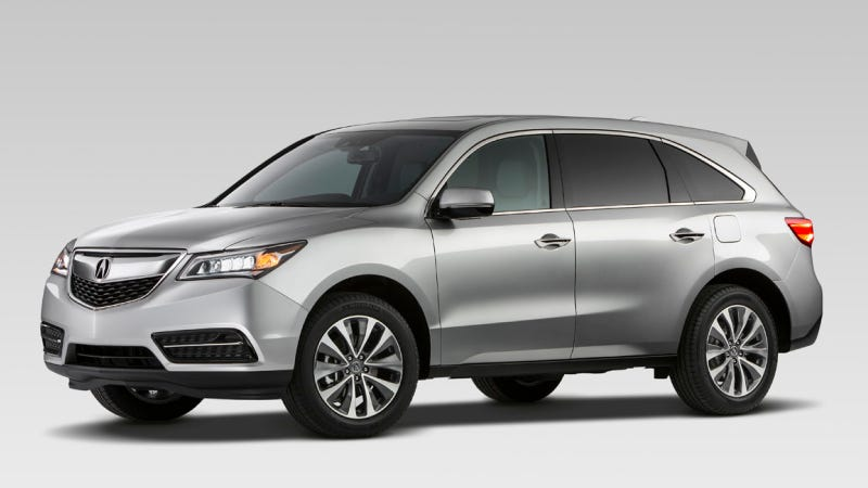 Illustration for article titled The 2014 Acura MDX Will Enthrall People Who Want To Buy The Acura MDX