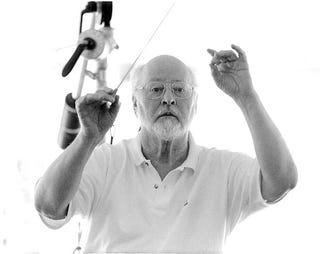 Illustration for article titled JOHN WILLIAMS WANTS TO RETURN AND SCORE  NEW STAR WARS TRILOGY--BUT...