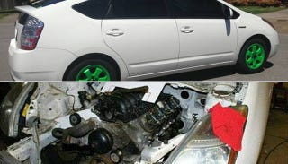 Illustration for article titled The V8 Prius On Seattle Craigslist Is Fake