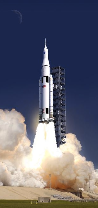 New images of NASA's deep-space rocket reveal an absolute ...