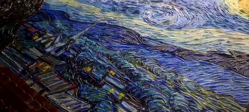 Illustration for article titled Ya puedes imprimir en 3D un Van Gogh por menos de 200 dólares