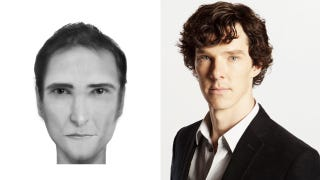 Illustration for article titled Which Sherlock Actor Looks Most Like This Police Composite Sketch?
