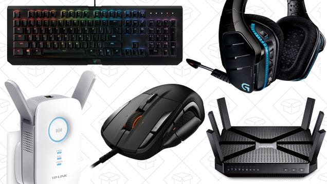 Get Ready For E3 With 20% On Tons of Gaming and Networking Gear From Amazon
